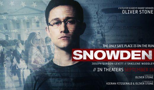 映画『スノーデン』(2016年)のザックリとしたあらすじと見どころ